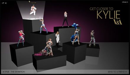 Get Closer to Kylie interactive