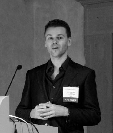 Oliver Vicars-Harris speaking at the TiLE Forum